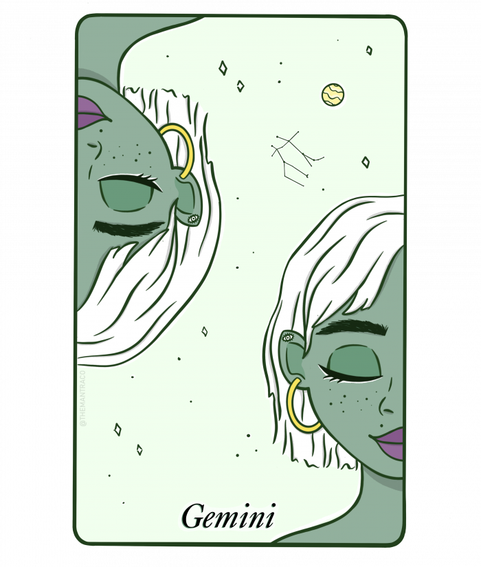 gemini tarot character